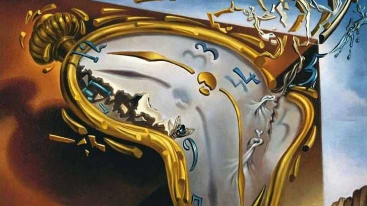 Melting Watch by Salvador Dali, 1954